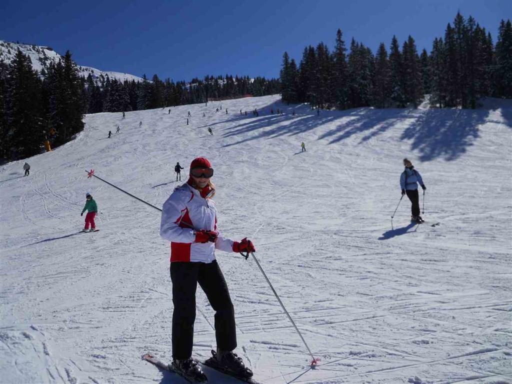 Катаюсь на лыжах в андало