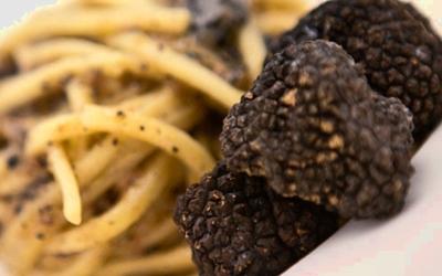 деликатес трюфель со спагетами