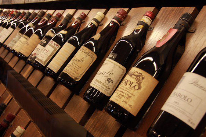 Итальянское вино на выставках. Самые лучшие вина Италии.