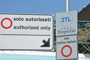 zona a traffico limitato в италии