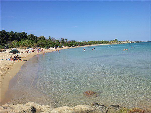 Пляж в Фонтане Бианке